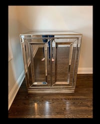 Hooker Mirrored Cabinet