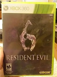 Xbox 360 Resident Evil case Knoxville, 37920