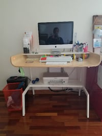PC/TASK/OFFICE DESK, HALF PIPE BY OFFI Chicago
