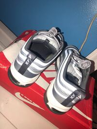 pair of white-and-black Adidas sneakers Hyattsville, 20782