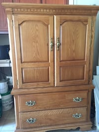 Vaughan Bassett Solid Wood Armoire LIKE NEW