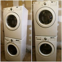 Lg tromm stackable washer and dryer  Pickering, L1V 6P5