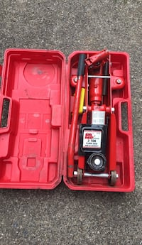 car jack with case