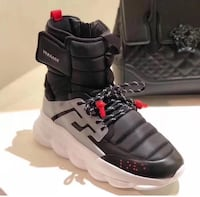 New Versace Chain Reaction Sneaker Boots Toronto, M6K 3C3