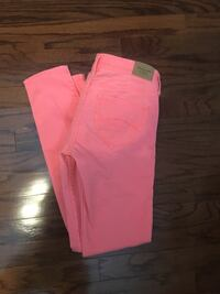 Pink Abercrombie and Fitch skinny jeans   Pasadena, 77586