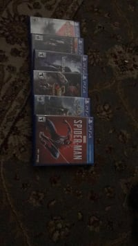 two Sony PS4 game cases Glen Burnie, 21061