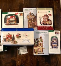 Department 56 Christmas Houses entire collection (13 houses) Pickering, L1V 7G8
