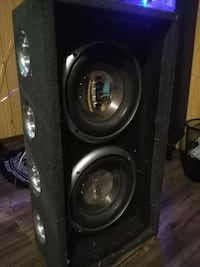 """10"""" RCA Subwoofers with Amp Calgary, T2C 0Y2"""