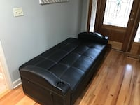 Like new Futon with trundle and cup holders Newton, 28658