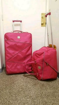 pink and black luggage bag Salem, 01970