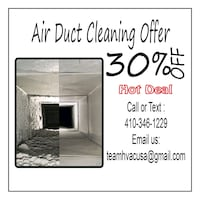 Air Duct Cleaning Promotion Bethesda