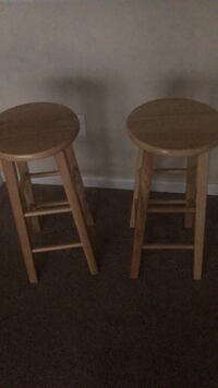Wooden bar stools / $40 for the pair Boca Raton, 33433