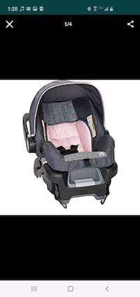 Baby trends car seat and base - brand new