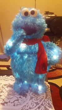 Cookie monster xmas decoration