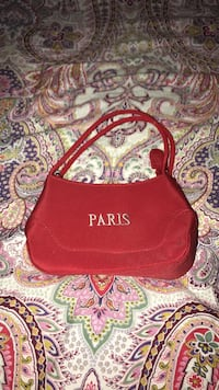 red Paris handbag