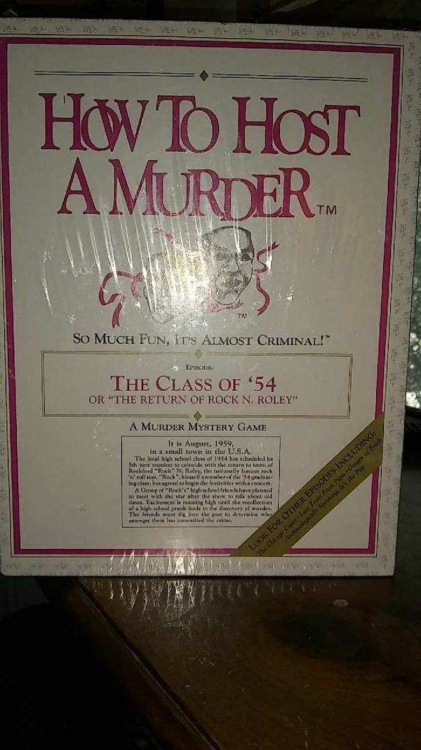 How to Host A Murder book