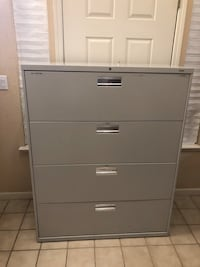 "Large Double Legal or Standard Size File Cabinet 53""T x 42""W x 19""D Elk Grove, 95757"