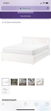 IKEA bed with storage Toronto, M5A 0C9