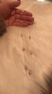 Tiffany Elsa Peretti  Pink Pearl necklace East Lansing, 48823