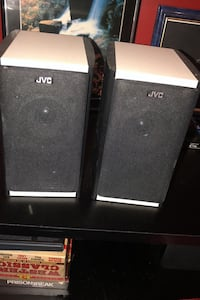 2 Very small speakers JVC