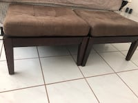 rectangular brown wooden coffee table Miami Beach, 33140