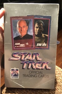 Star Trek 1991 official trading cards