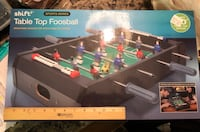Black and gray foosball table Albany, 12205