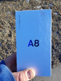 New in the box Galaxy A8 null