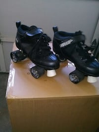 bullet black leather roller skate Corrales, 87048