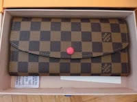 brown and black Louis Vuitton leather wallet Toronto, M3N 2H8