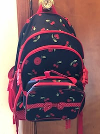 Gymboree Cherry Backpack & Lunchbox