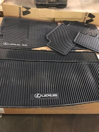 2015 Lexus 350 SUV All Weather Mats