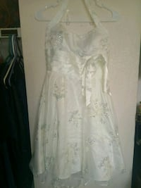 white floral lace prom dress Saint Charles, 63303