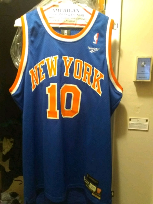 low priced 03765 e1a14 Used Walt Frazier New York Knicks Jersey for sale in ...
