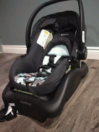 baby's black and gray car seat carrier Brampton, L6Y 5A3