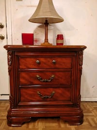"""Wooden JCPENNEY night stand with 3 drawers. L30""""*W Annandale, 22003"""