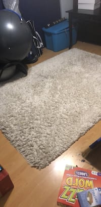 gray and white area rug New Westminster, V3M 6L4