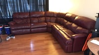Leather Sectional Couch Fairfax, 22030