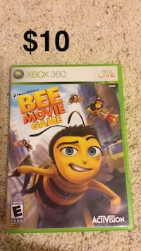 Bee Movie Game Xbox 360 game case