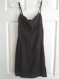 Pin Stripped Dress - Size Small. Black and white pin stripped