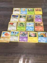Assorted pokemon trading card collection Pickering, L1V 5Z2