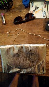 brown and black leather handbag Pittsburgh