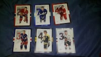 2014 Canada Post Stamp NHL Hockey Card Set w/ Bobb Montréal, H8S 3K4
