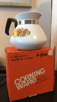 Corning ware spice of life tea pot Mississauga, L5N 7G6