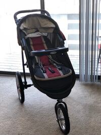 Baby's black and red jogging stroller Tysons, 22182