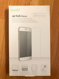 Moshi airfoil glass screen protector(iPhone 6 plus/6s plus) Vancouver, V6M 2Y7