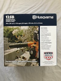 Brand new never used Husqvarna 128B 28cc gas hand held blower.