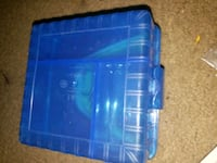 Blue box with alot of rubber wrist bands Albuquerque, 87109