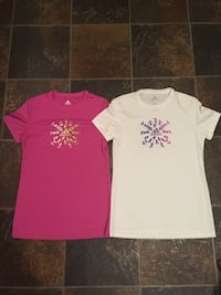 Woman's Adidas Shirts Size SMALL Dover, 17315