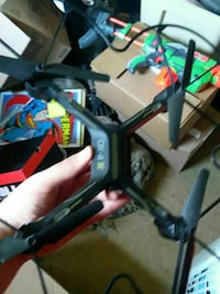 black and green DX-4 quadcopter Fairplay, 21733